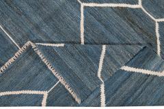 21st Century Modern Kilim Wool Rug 9 X 12 - 1405473