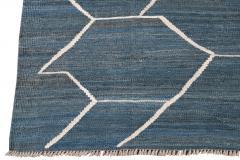 21st Century Modern Kilim Wool Rug 9 X 12 - 1405475