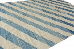 21st Century Modern Kilim Wool Rug 9 X 12 - 1405932