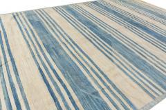 21st Century Modern Kilim Wool Rug 9 X 12 - 1405983