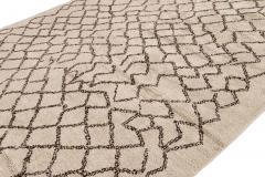 21st Century Modern Moroccan Beige Wool Rug - 1538603