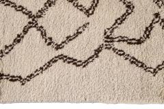21st Century Modern Moroccan Beige Wool Rug - 1538613
