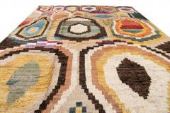 21st Century Modern Moroccan Style Wool Rug - 1409101