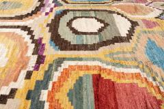 21st Century Modern Moroccan Style Wool Rug - 1409106