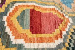 21st Century Modern Moroccan Style Wool Rug - 1409110