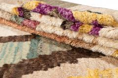 21st Century Modern Moroccan Style Wool Rug - 1409113