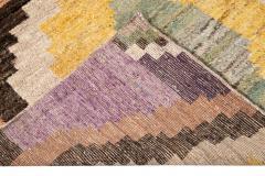21st Century Modern Moroccan Style Wool Rug - 1409114
