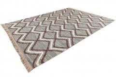 21st Century Modern Striped Flatweave Rug 9 x 13 - 1405870