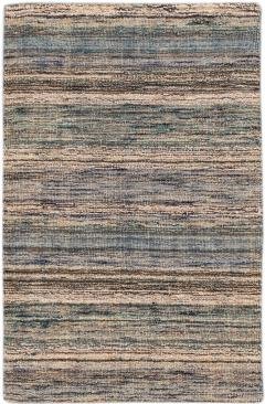 21st Century Modern Texture Wool Rug Customized - 1466058