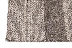 21st Century Modern Texture Wool Rug Customized - 1466073