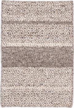 21st Century Modern Texture Wool Rug Customized - 1466118