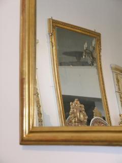 24 Karat Gold Leafed Louis Philippe Mirror - 480813