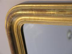 24 Karat Gold Leafed Louis Philippe Mirror - 480814