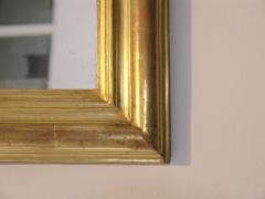 24 Karat Gold Leafed Louis Philippe Mirror - 480815