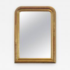 24 Karat Gold Leafed Louis Philippe Mirror - 481369
