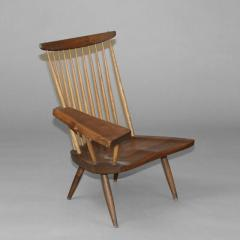 George Nakashima New Lounge Chair with Writing Arm - 7148