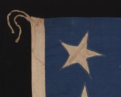30 Stars on an Antique American Flag Made in the Period Between 1870 1890 - 638243
