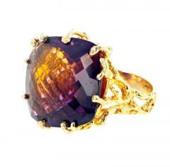 36 Carat Ametrine Amethyst Citrine Gold Ring - 1865986