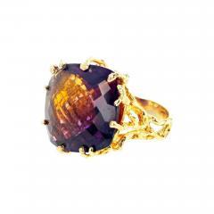 36 Carat Ametrine Amethyst Citrine Gold Ring - 1866029