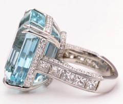 cocktail carat rings aquamarine diamond listings jewelry watches gold ring jewellery