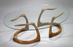 David Ebner Rare and Early Sternum Coffee Table 1980 - 6366