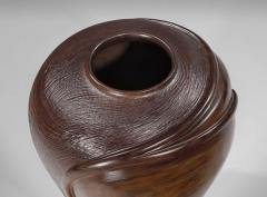 William Hunter Rare and Important Turned Wood Vessel by William Hunter 1990 - 910