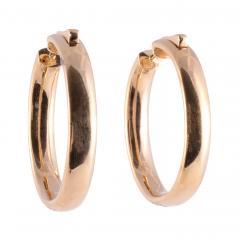 4 37 CTW Diamond Inside Out Huggie 18K Earrings - 2139354