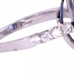 4 40 Carat GIA Certified Natural Sapphire and Diamond Ring Size 6 - 1991391