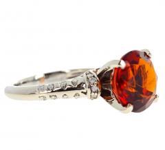 4 75 Carat Rio Grande Citrine and Diamond Gold Ring - 1866577