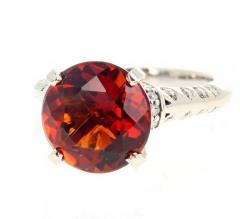 4 75 Carat Rio Grande Citrine and Diamond Gold Ring - 1866578