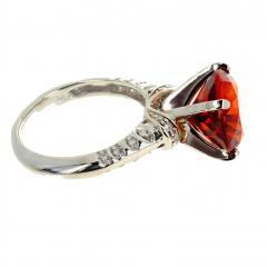 4 75 Carat Rio Grande Citrine and Diamond Gold Ring - 1866579