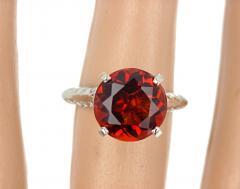 4 75 Carat Rio Grande Citrine and Diamond Gold Ring - 1866587