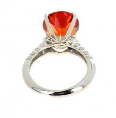 4 75 Carat Rio Grande Citrine and Diamond Gold Ring - 1866588