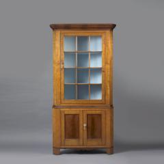 Federal Corner Cupboard c 1820 - 6551