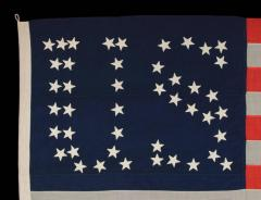 44 Star Flag with Stars That Form the Letters U S  - 648899