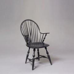 Continuous Brace Back Windsor Arm Chair c 1785 1795 - 6557