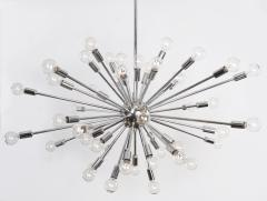 48 Light Polished Chrome Sputnik produced by Globe Industries  - 1671385