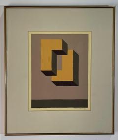 5 Watercolors Adrian Murphy Telespective Related Forms Mandala Rising 1970  - 2079118