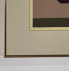 5 Watercolors Adrian Murphy Telespective Related Forms Mandala Rising 1970  - 2094165