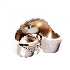 6 00 Carat Pear Shaped Aqua Diamond Dangle Gold Earrings - 396239