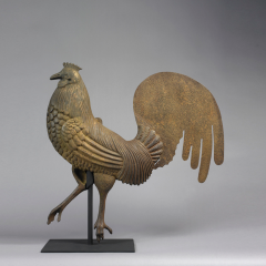 Rooster Weathervane c 1875 1885 - 10008