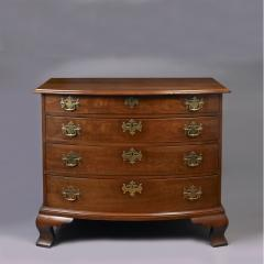 Transitional Chippendale Bow Front Chest c 1780 - 6575