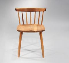 George Nakashima Set of 6 Special Low Back Chairs 1985 - 7172