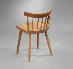 George Nakashima Set of 6 Special Low Back Chairs 1985 - 7174