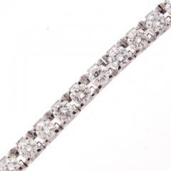 7 Carat Diamond Gold Bracelet - 433110