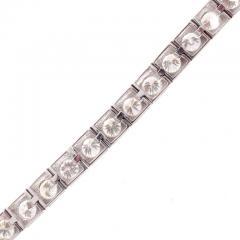 7 Carat Diamond Gold Bracelet - 433111