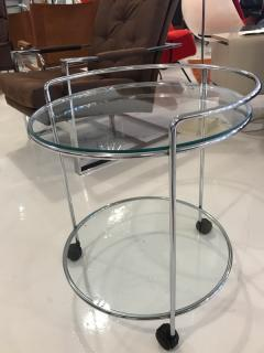 70 s chrome bar cart - 1046671