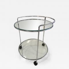 70 s chrome bar cart - 1147545