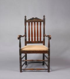 Queen Anne Arm Chair c 1730 1750 - 6568