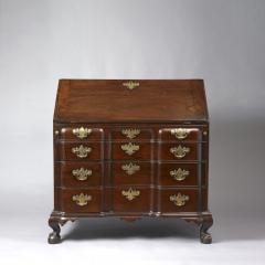 The Bliss Family Blockfront Desk c 1770 - 6576
